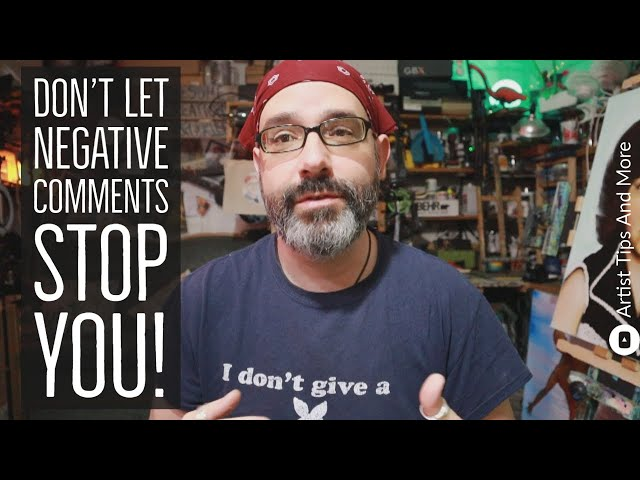 Don't Let Negative Comments Stop You From Being Awesome