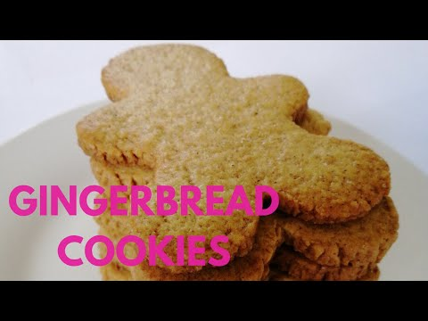 Easy Gingerbread Cookies + Simple Icing That Hardens! No Molasses