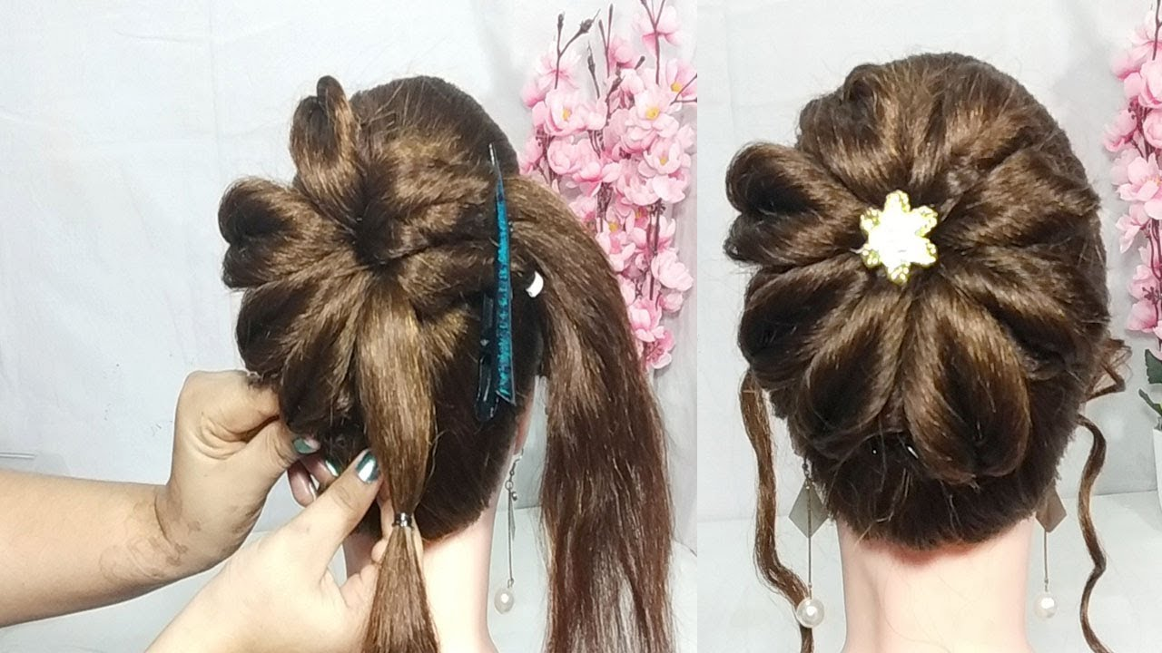 Cute Prom Hair Styles: New Latest Twisted Bun Hairstyle With Trick