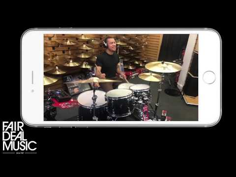 Yamaha EAD10 - Electronic Acoustic Drum Module and APP Demo at Fair Deal Music