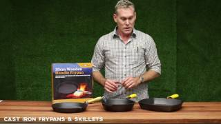 oztrail cast iron frypans skillets