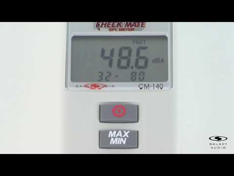 Introducing the Galaxy Audio CM-140 SPL Meter