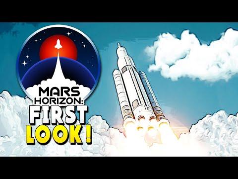 FIRST LOOK : Aliens Make Us Start a Space Program – Mars Horizon Beta – Early Access
