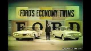 1960 Ford Falcon & Fairlane 500 - 2 original color commercials