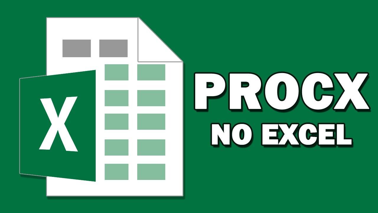 PROCX no Excel   A nova fórmula que veio para substituir o PROCV