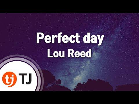 [TJ노래방] Perfect day - Lou Reed  / TJ Karaoke