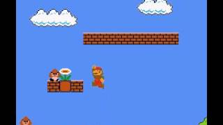 Super Mario Bros - World 1-1 - User video
