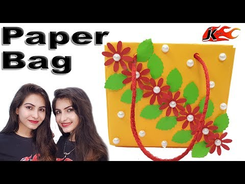 DIY Small Paper Bag -  Gift wrap Ideas  - How to make - JK Arts 1426