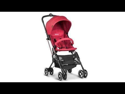 besrey Airplane Stroller One Step Design for Opening & Folding Lightweight Baby Stroller