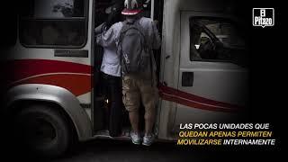 SE VE LA CRISIS.Cómo se movilizan los caraqueños en los municipios del Distrito Capital (El Hatillo)