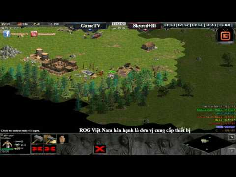 4 vs 4 GameTV vs Skred + BiBI  ngày 26 12 2016 C4T4