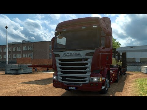 Euro Truck Simulator 2 - Italia - Firenze to Cassino - Gameplay (PC HD) [1080p60FPS]