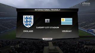 FIFA19 가상월드컵 4강 잉글랜드 vs 우루과이