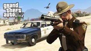 GTA 5 PLAY AS A COP MOD - SHERIFF POLICE PATROL!! (GTA 5 Mods Gameplay)