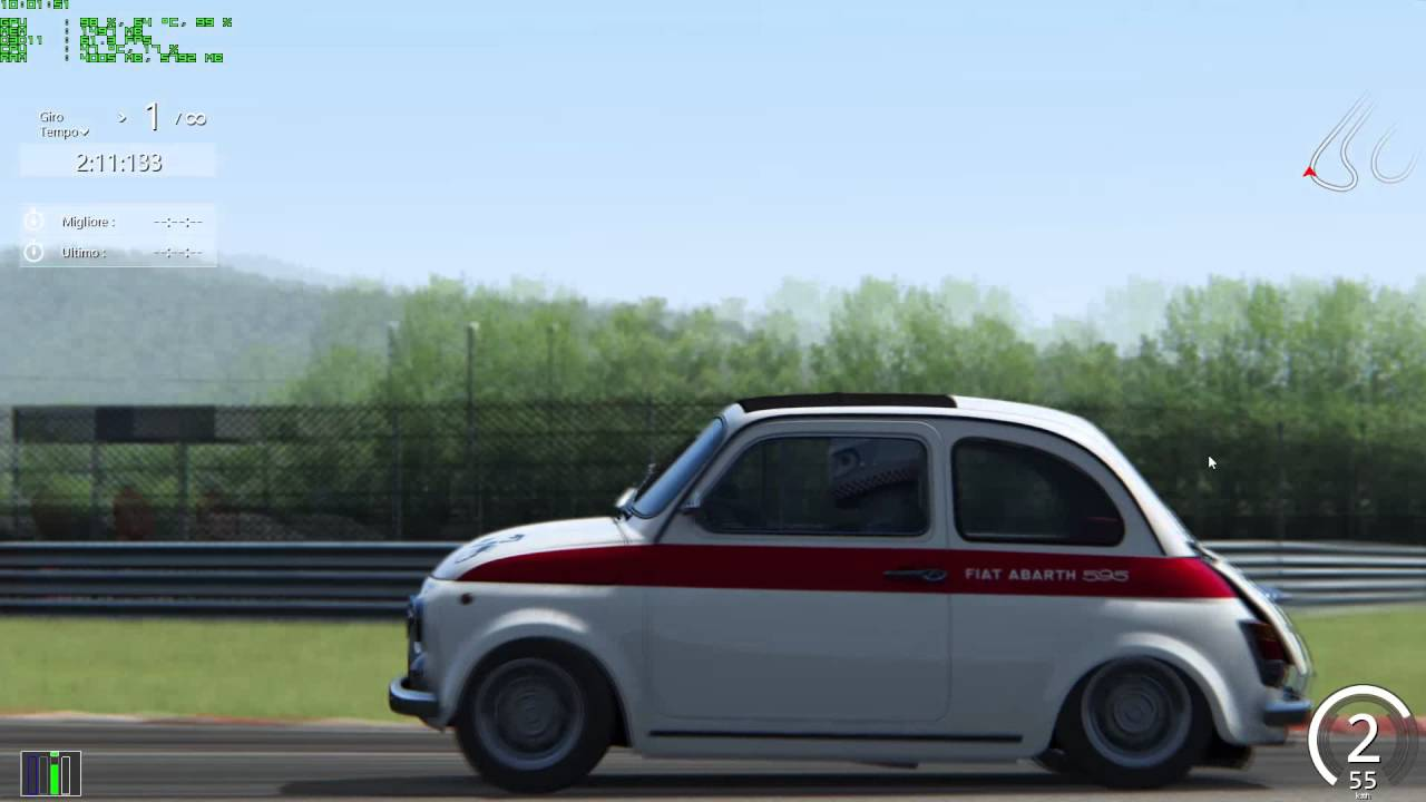 assetto corsa abarth 595 tuning youtube. Black Bedroom Furniture Sets. Home Design Ideas