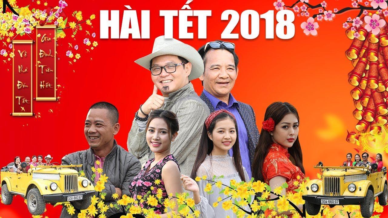 Hài Tết 2018   Phim Hài Quang Tèo, Trung Hiếu, Bình Trọng Mới Nhất 2018 - Đại Gia Chân Đất 8 FULL HD