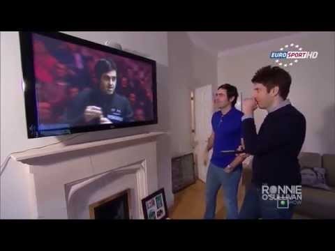 Ronnie O'Sullivan Analyses His 2014 147 Break With Andy Goldstein