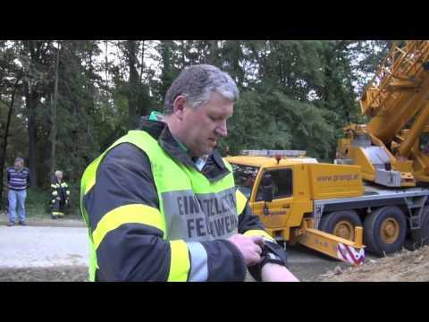 Spektakulärer Unfall in Kaindorf an der Sulm