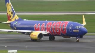 TUIfly Boeing 737-800 *Haribo colors* | Dusseldorf Airport | D-AHFM