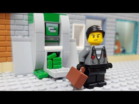 Lego ATM Robbery - Scam