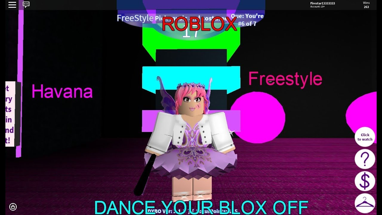 Roblox Dance Your Blox Off Havana Freestyle Youtube