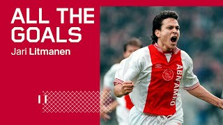 ALL THE GOALS - Jari Litmanen | Happy birthday LEGEND 🥳