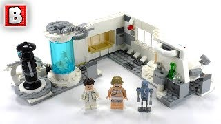 LEGO Star Wars Hoth Medical Chamber Review! | Set 75203