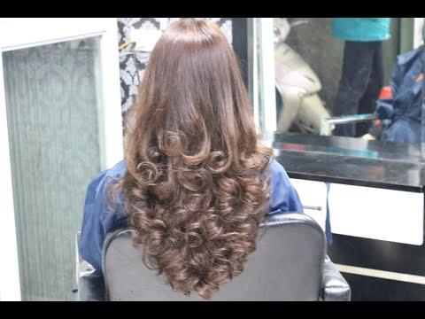 tóc dài uốn tại Kemtrinam.vn