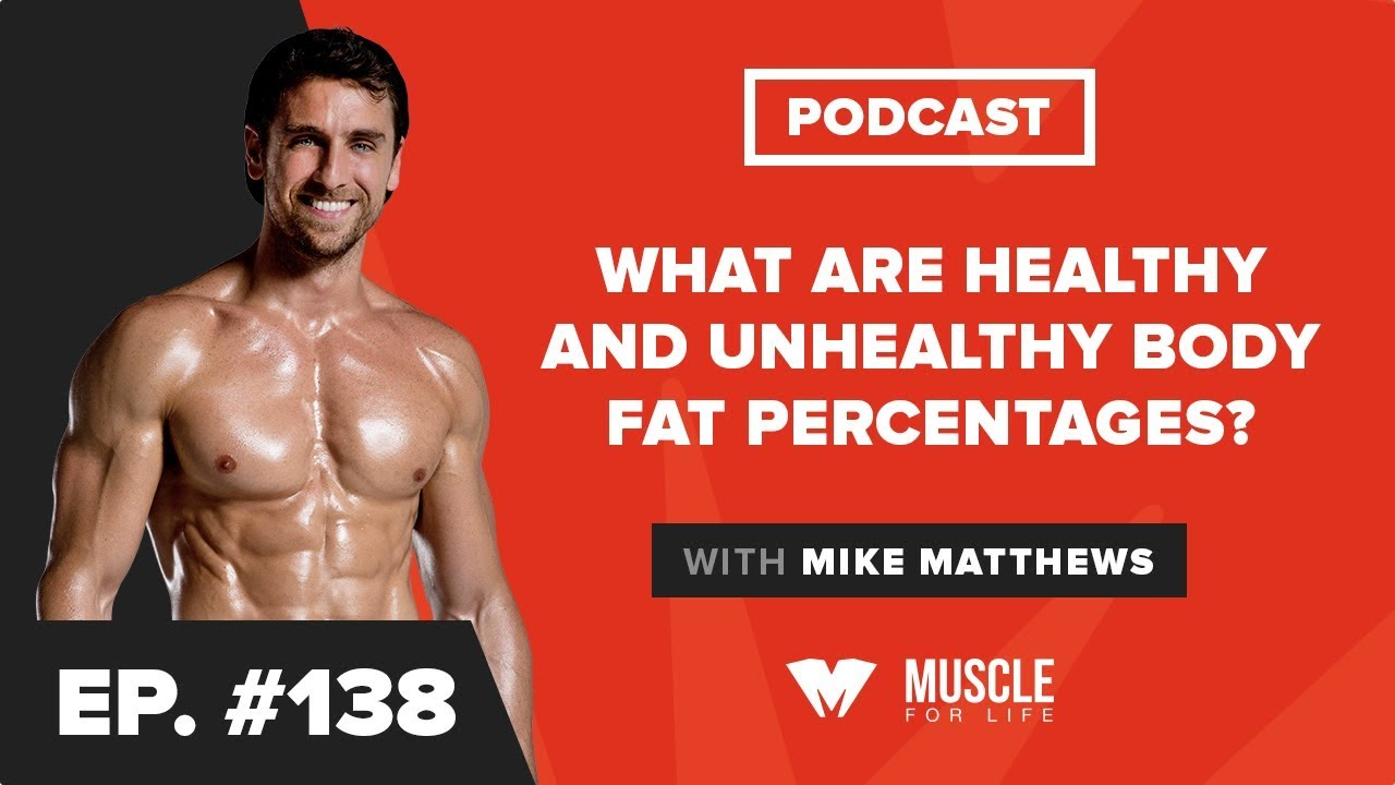 what body fat percentage is healthy