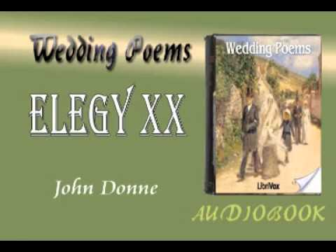 Elegy XX John Donne Audiobook Wedding Poems