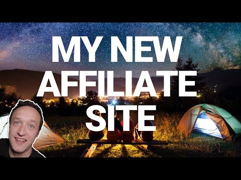 MY NEW AFFILIATE MARKETING WEBSITE - LIVE thumbnail