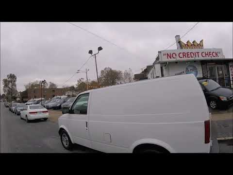 2004 White /Gray Chevrolet Astro Cargo Van (1GCDM19X44B) with an 4.3L V6 OHV 12V engine, 4-Speed Automatic Overdrive transmission, located at 577 Chester Pike, Prospect Park, PA, 19076, (610) 237-1015, 39.886154, -75.302338 - Photo #0