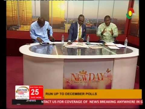 Nana Akomea and Kofi Adams debate over Stride made by NDC  - 11/11/2016