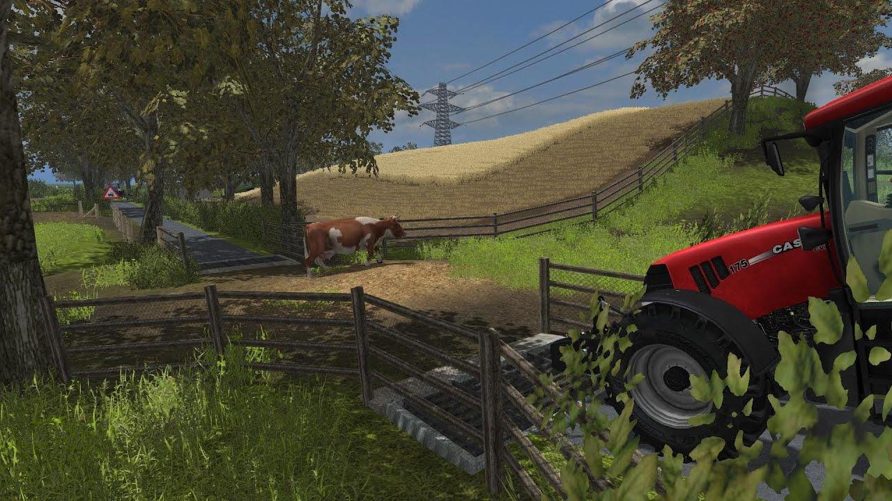Map Usa Farming Simulator 2013%0A TremerthFarmV  Show around in Case CVX     Farming Simulator       YouTube