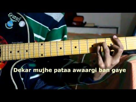 Hasi Ban Gaya(Ami Mishra) Both Male and Female Version Detailed Guitar Tutorial (HD)
