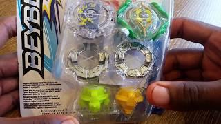 Hasbro Beyblade Burst Kerbeus K2 Yegdrion Y2 2-Pack Unboxing!