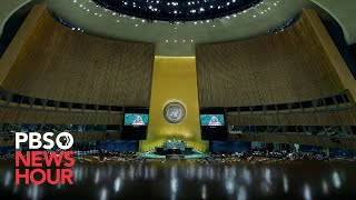 WATCH LIVE: 2021 United Nations General Assembly - Day 1