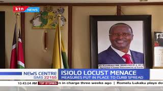 Isiolo Locust Menace: Measures put in place to curb spread yet to bear fruit