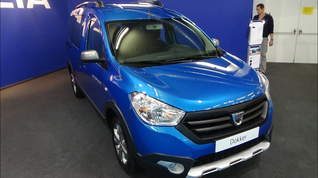 2017 Dacia Dokker Stepway Tce 115 Exterior And Interior Zürich Car Show You