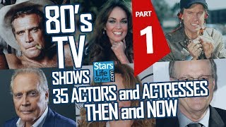 80's TV Shows : 35 Actors And Actresses Nowadays | Stars Then And Now
