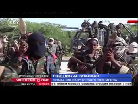 Somali military retakes Merca from Al-Shabab militants who seized the port city