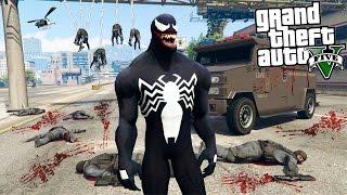 GTA 5 Моды - ВЕНОМ УНИЧТОЖАЕТ ЛОС-САНТОС! - Venom Mod GTA 5
