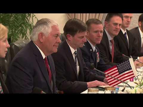 Secretary Tillerson Meets Pakistan Prime Minister Abbasi