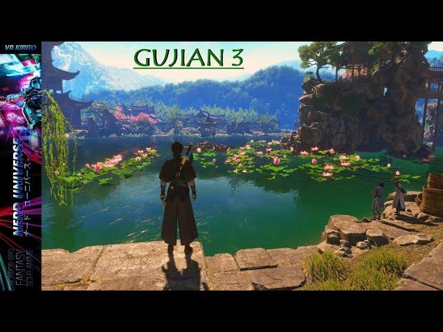 Gujian 3 Gameplay - Die Stadt, Angeln & Karten spielen ☯ Livestream [Deutsch] 1440p
