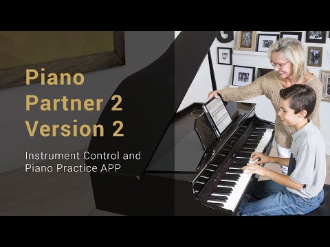 Piano APPS Roland's Piano Partner 2 Version 2 Overview 2020