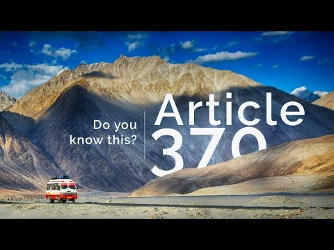 Article 370   What are Article 370 and Article 35A? - Current Affairs video