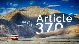 Article 370 | What are Article 370 and Article 35A? - Current Affairs video