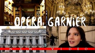 ОПЕРА ГАРНЬЕ: ЛЕГЕНДЫ, КРАСОТА И БИБЛИОТЕКА ГАРРИ ПОТТЕРА//Opera Garnier: Beauty & Bookworm Paradise