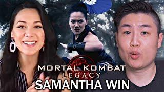 Интервью с Китаной из Mortal Kombat Legacy !! (Интервью Саманты Вин)