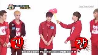 [ENG] 130710 EXO Weekly Idol Random Dance cut